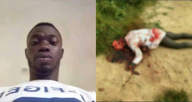 Cult Member Butchered To Death In Ekiti State University (Graphic Photos)