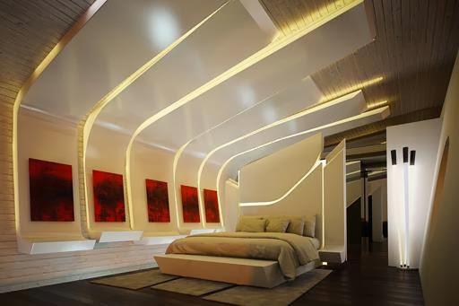 Dormitorios minimalistas futuristas for Dormitorios minimalistas 2016