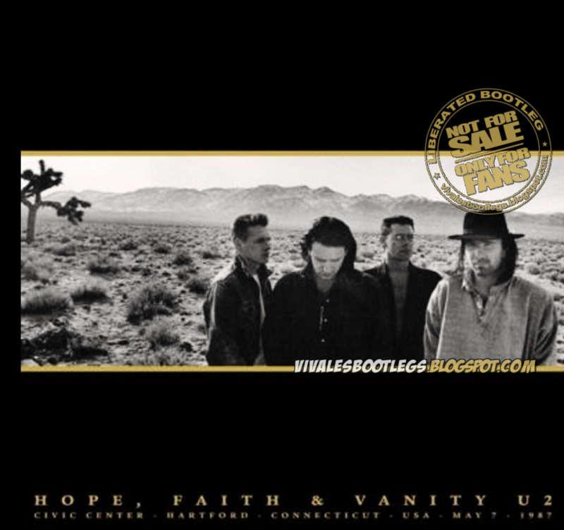 U2 Hope Faith Amp Vanity Civic Center Hartford