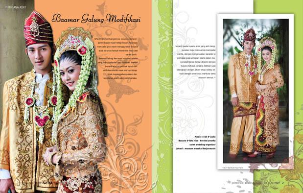 4 Pakaian Adat Kalimantan Selatan khas Banjar, Gambar dan ...