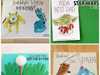 Sweet Drawing Blogs Baby Handprint Canvas Ideas