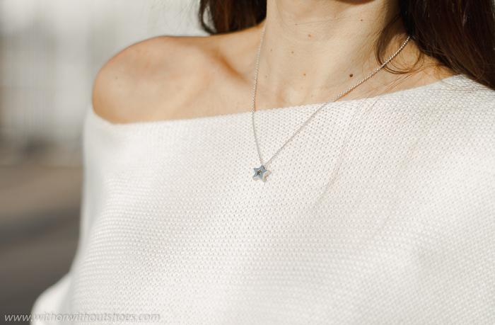 Collar estrella de plata Leontina Alascio joyas