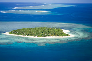 Tavarua, the remote island in the South Pacific, where Finnegan was among only a handful of people to have surfed