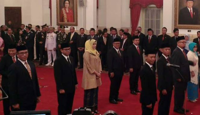 Aneh dan Tak Lazim, Pimpinan DPR dan Para Wakilnya Tidak Hadir Pada Pelantikan Anggota KPU-Bawaslu dan Hakim MK