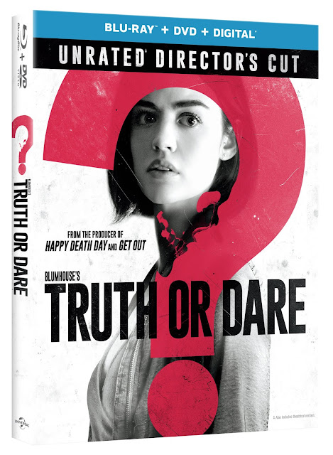 From Universal Pictures Home Entertainment: Blumhouse's Truth or Dare: Unrated Directors Cut