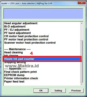 How to Reset Printer Epson L220 Service Required