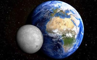 bulan satelit bumi tata surya