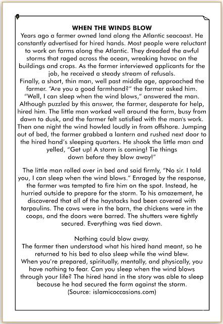 contoh cerita inggris pendek