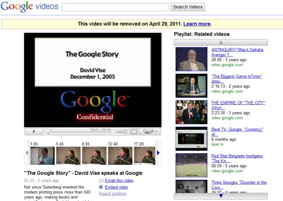 Google Vide