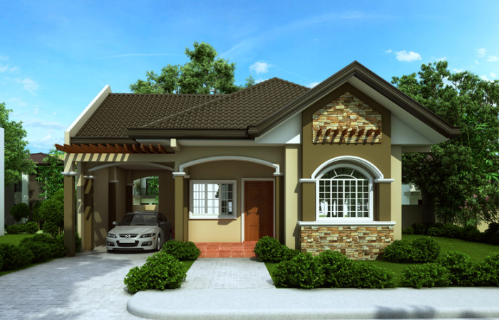 Thoughtskoto Lot Size 160 Sq Bungalow House Design Philippines 2015
