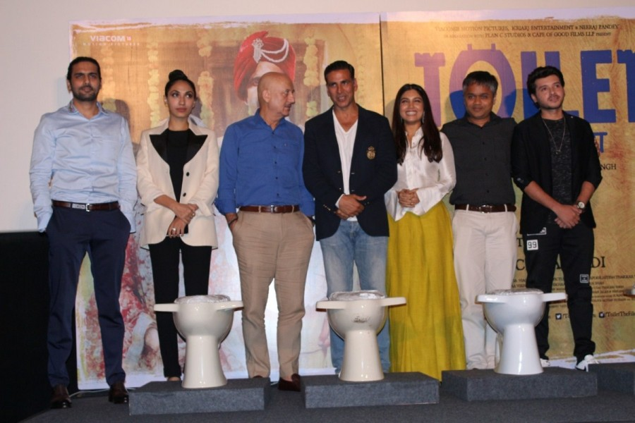 Toilet: Ek Prem Katha Press Conference Photos