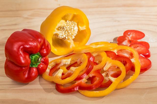 Bell Pepper Sweet Pepper Capsicum Vegetable