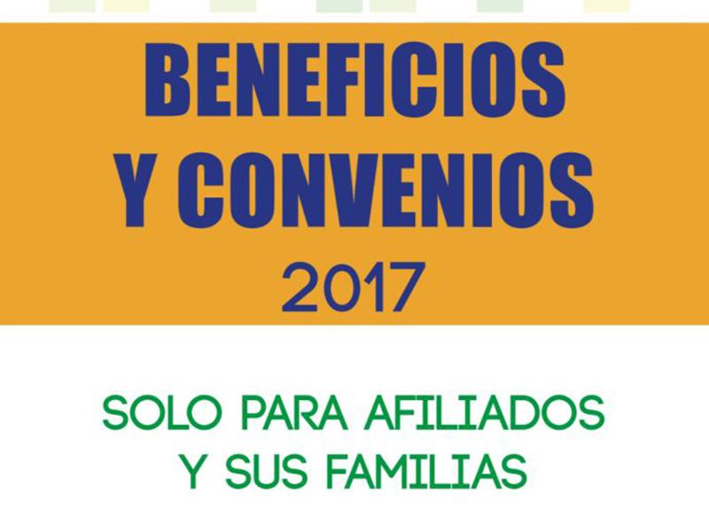 Nuevos convenios para nuestros afiliados UNEB