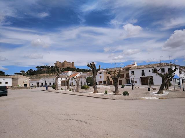 Plaza de Enrique Fernández en Belmonte