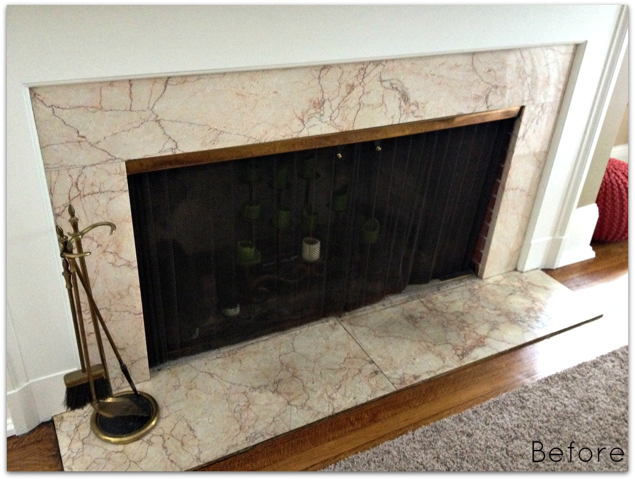 Abby Manchesky Interiors E Design Fireplace Makeover