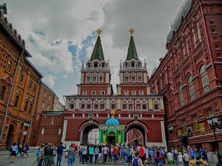 Russie Moscou Moscow place rouge red square