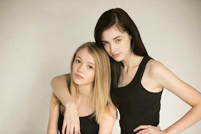 Erica Huber and Erin Gruber