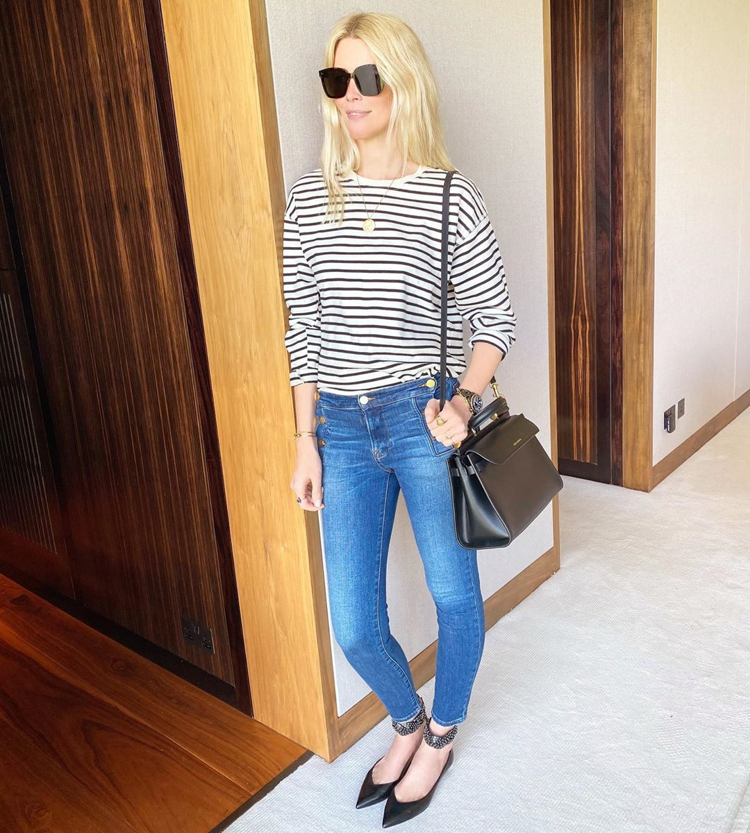 A Striped T-Shirt is a Classic Wardrobe Essential