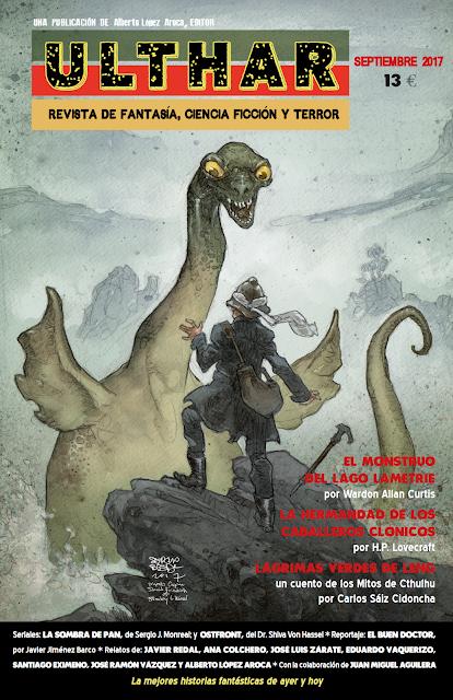 ¡NUEVO! Revista Ulthar nº02. 13 euros