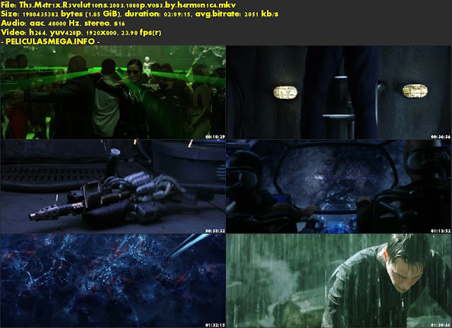 Descargar The Matrix Revolutions Subtitulado por MEGA.