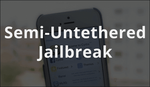 How to Re-Jailbreak a Semi-Untethered Jailbreak on iPhone or