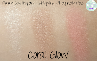 Rimmel Sculpting and Highlighting Kit by Kate Moss - Coral Glow | Kat Stays Polished