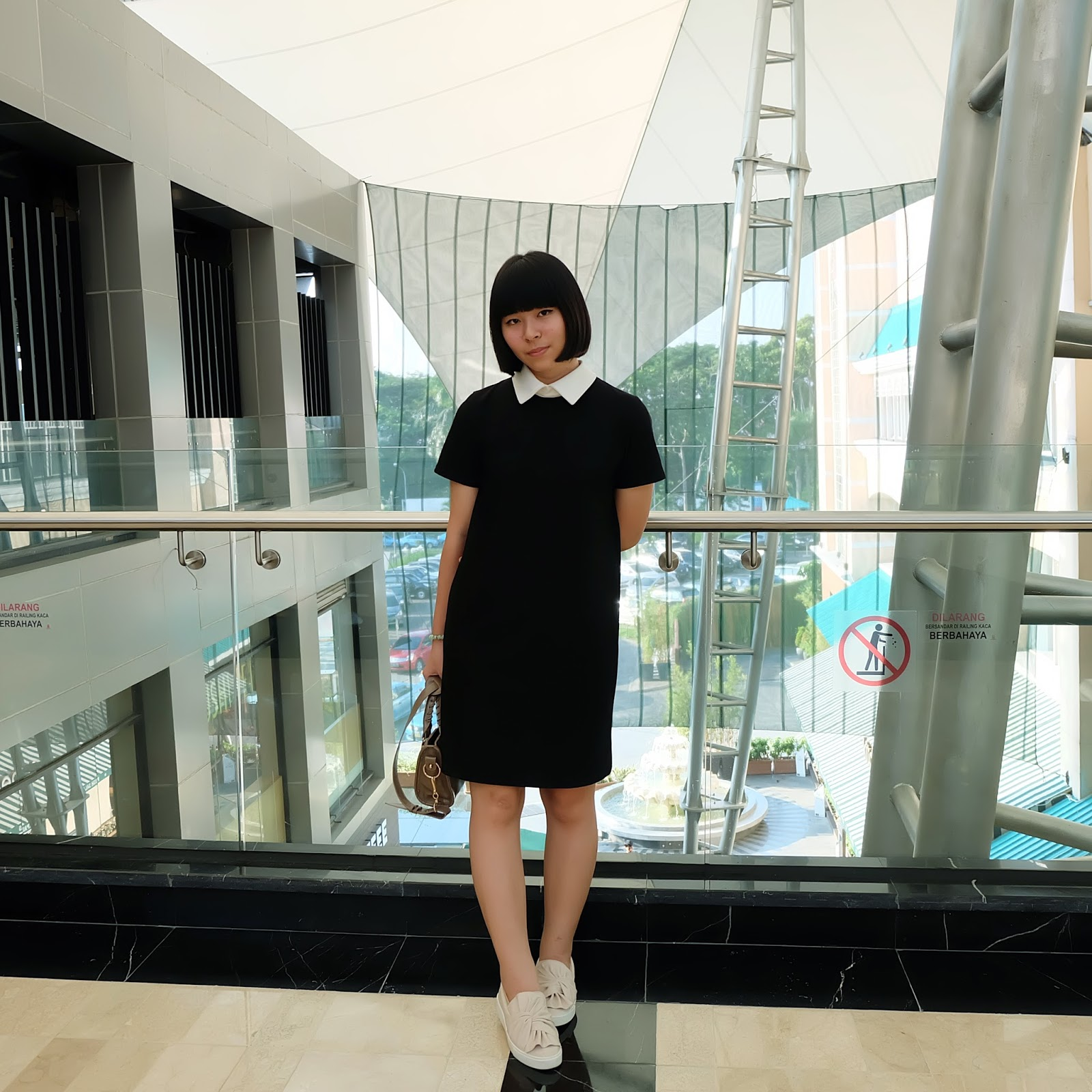 black collar dress | japobsganbare.blogspot.com