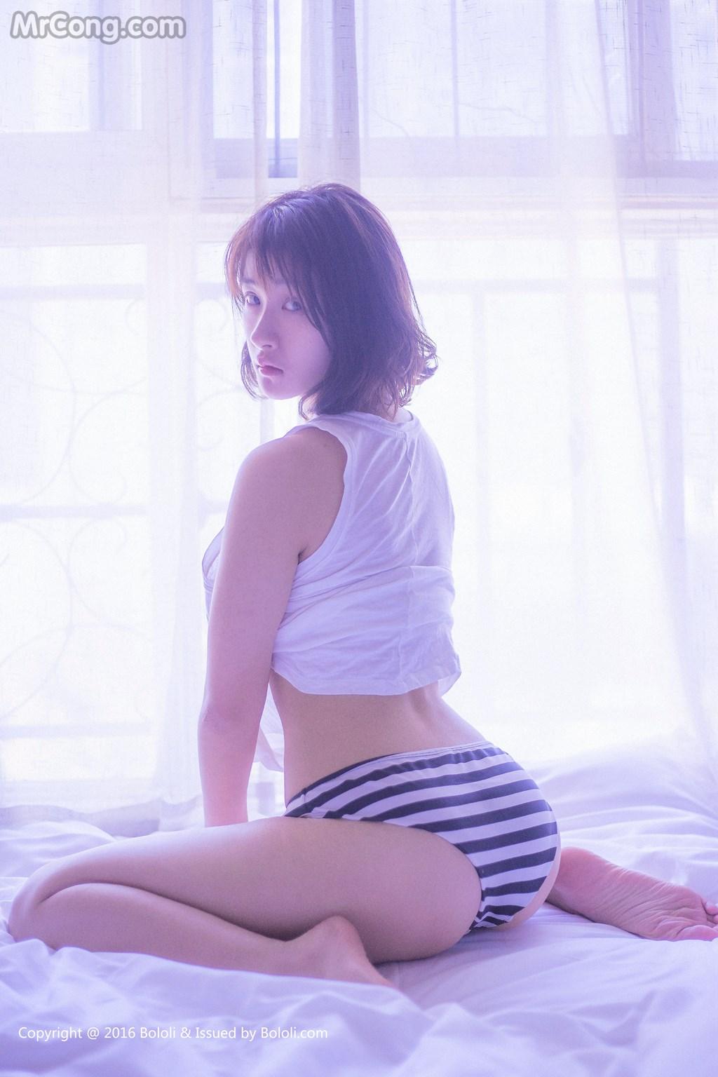 Image BoLoli-2017-03-10-Vol.028-Jia-Jiang-MrCong.com-001 in post BoLoli 2017-03-10 Vol.028: Người mẫu Jia Jiang (珈酱) (41 ảnh)