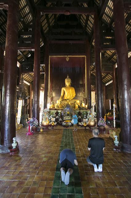 Tempio Wat Bupparam-Chiang Mai