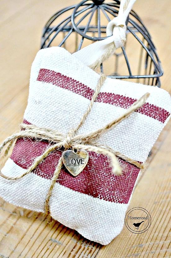 Hand made lavender sachet bundles