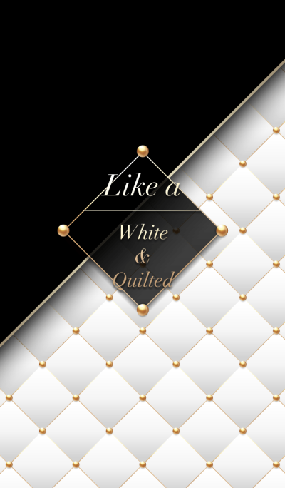 Like a - White & Quilted #Sugar Cube