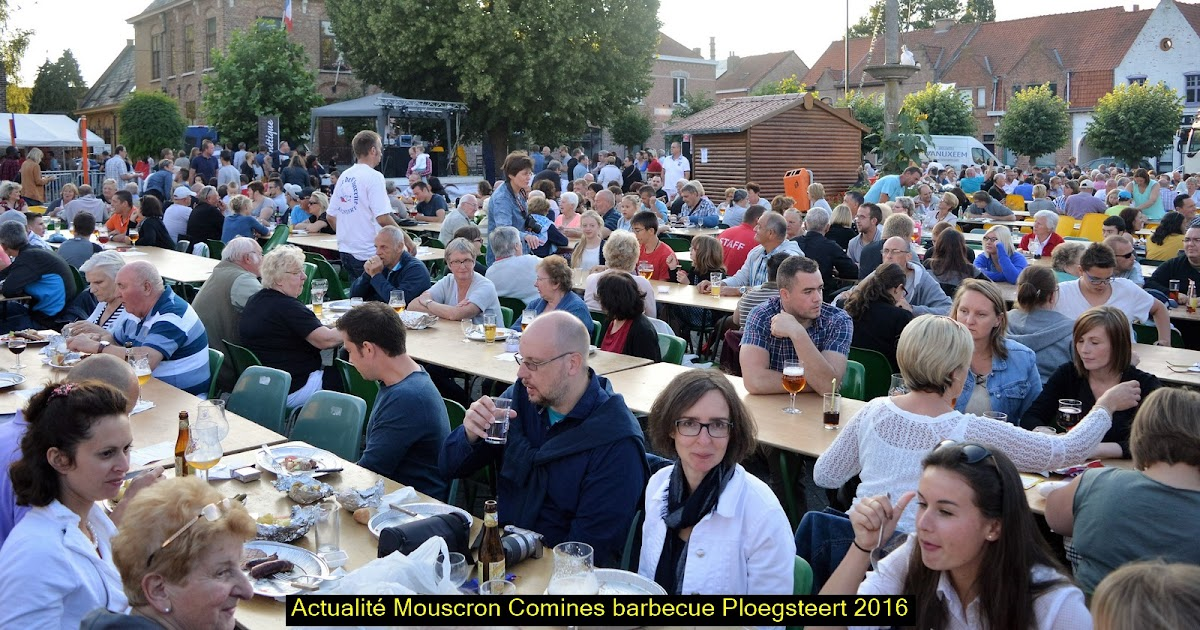 Actualités Mouscron- Comines: Ploegsteert - 37ème Barbecue