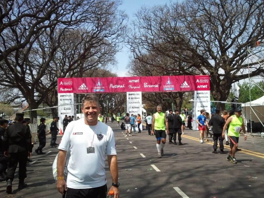 Maratona do Rio ou de Buenos Aires