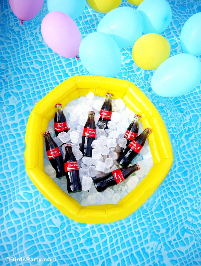 Pool Party Float Ideas - BirdsParty.com