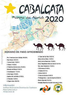 Mairena del Aljarafe - Cabalgata de Reyes 2020