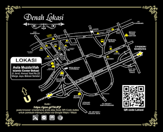 Denah Aula Muzdalifah - Islamic Center Bekasi