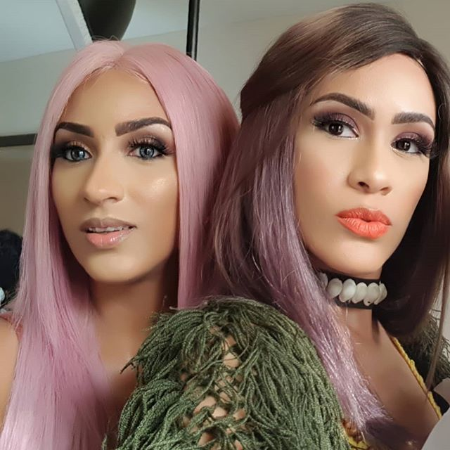 Juliet Ibrahim and sister Sonia