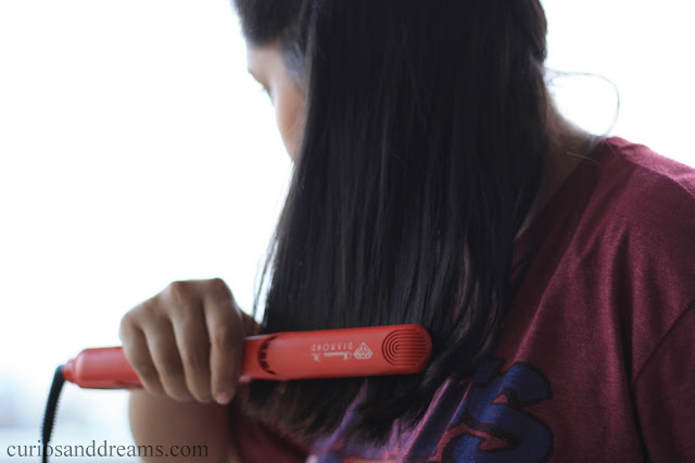 Irresistible Me Diamond Flat Iron review, Irresistible Me Diamond Flat Iron india