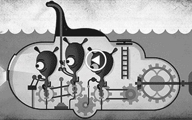 Misteri Monster Danau Loch Ness Tampil Di Google Doodle