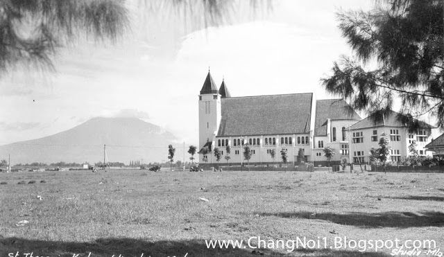 Church in Malang, Java - Indonesia