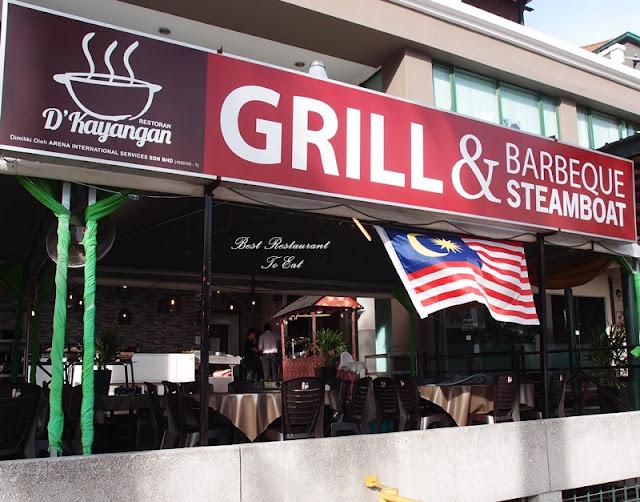 D'Kayangan Steamboat BBQ Buffet Restaurant Shah Alam Address