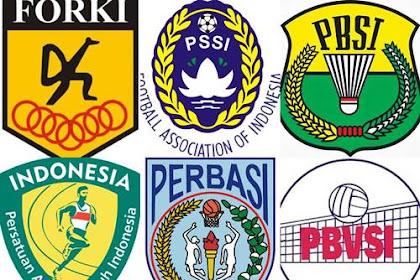 44+ Nama Induk Organisasi Olahraga Nasional di Indonesia [Lengkap]