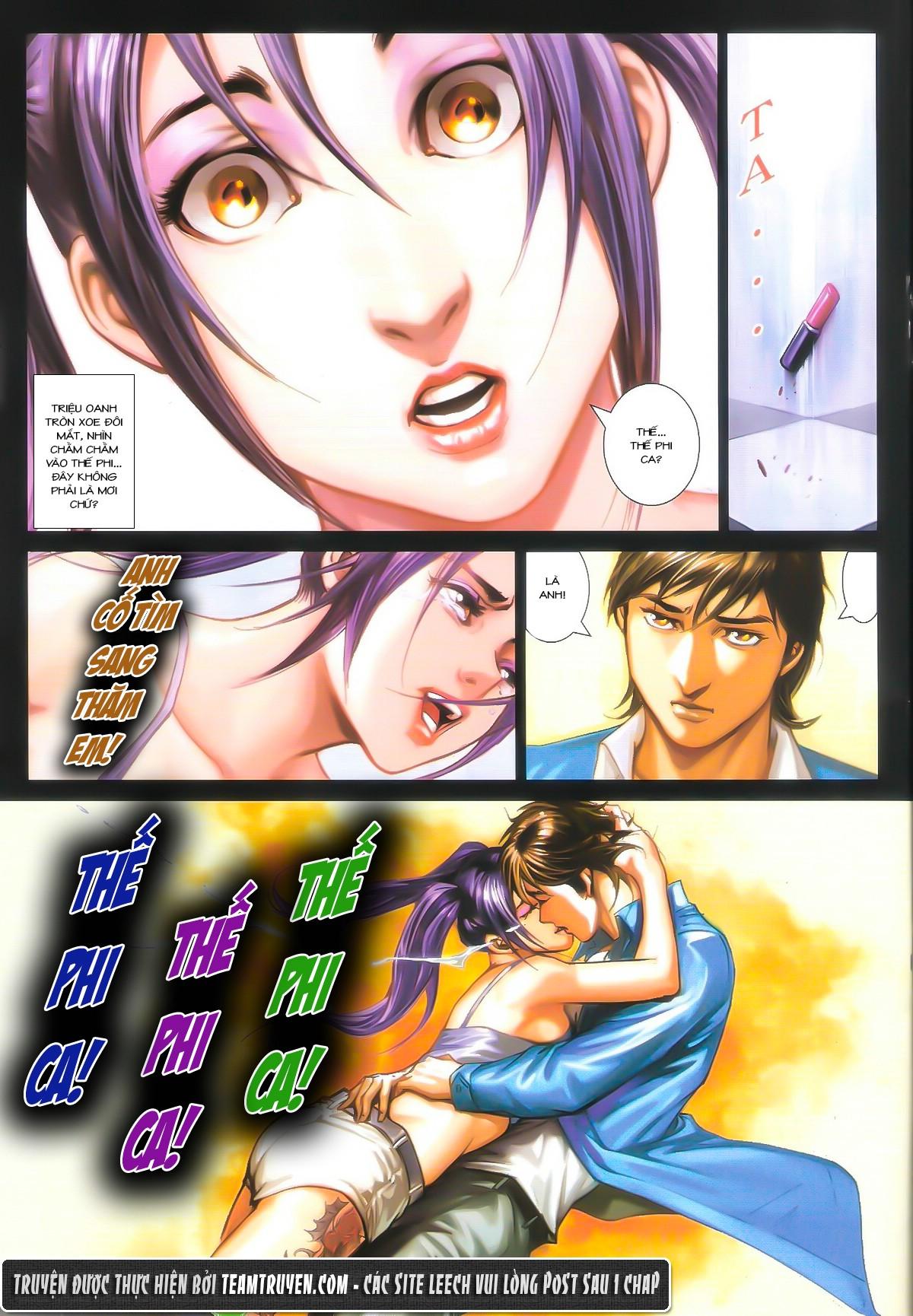 Người Trong Giang Hồ chapter 1604: hồng hưng vs trường lạc trang 20