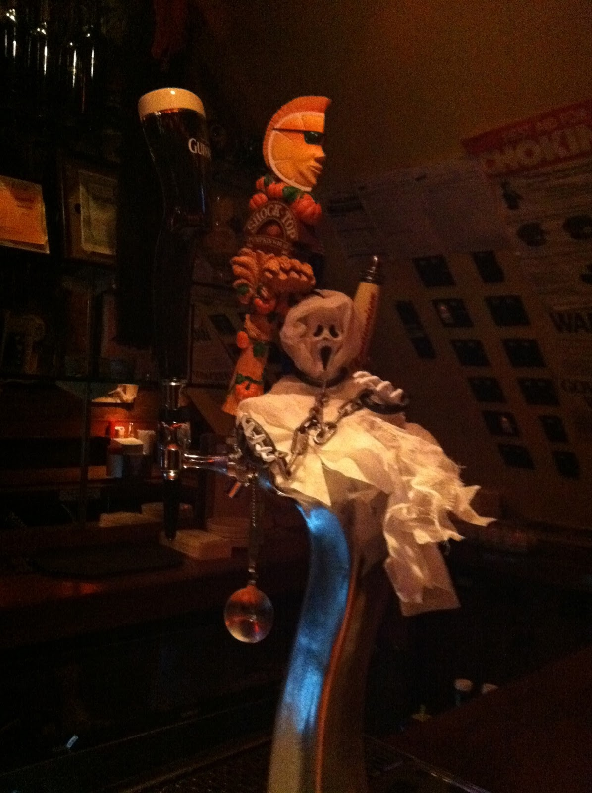 The Vouchsafery: Halloween Decorations of the Bar Kind