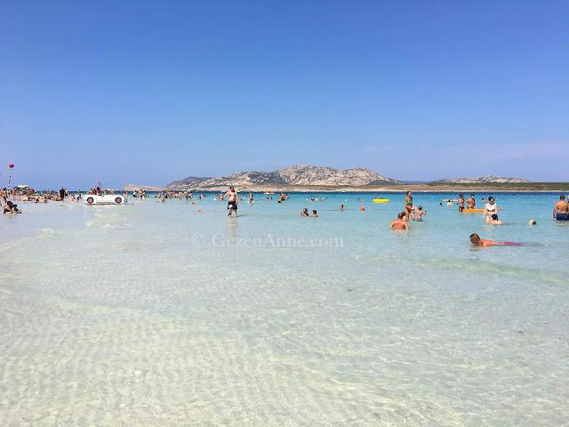 Sardinia La Pelosa beach Italy