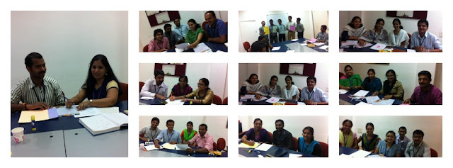 The team at CCS in Kottayam and Kochi