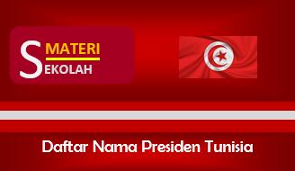 SNama-Nama Presiden Tunisia Sepanjang Masa (Terlengkap)