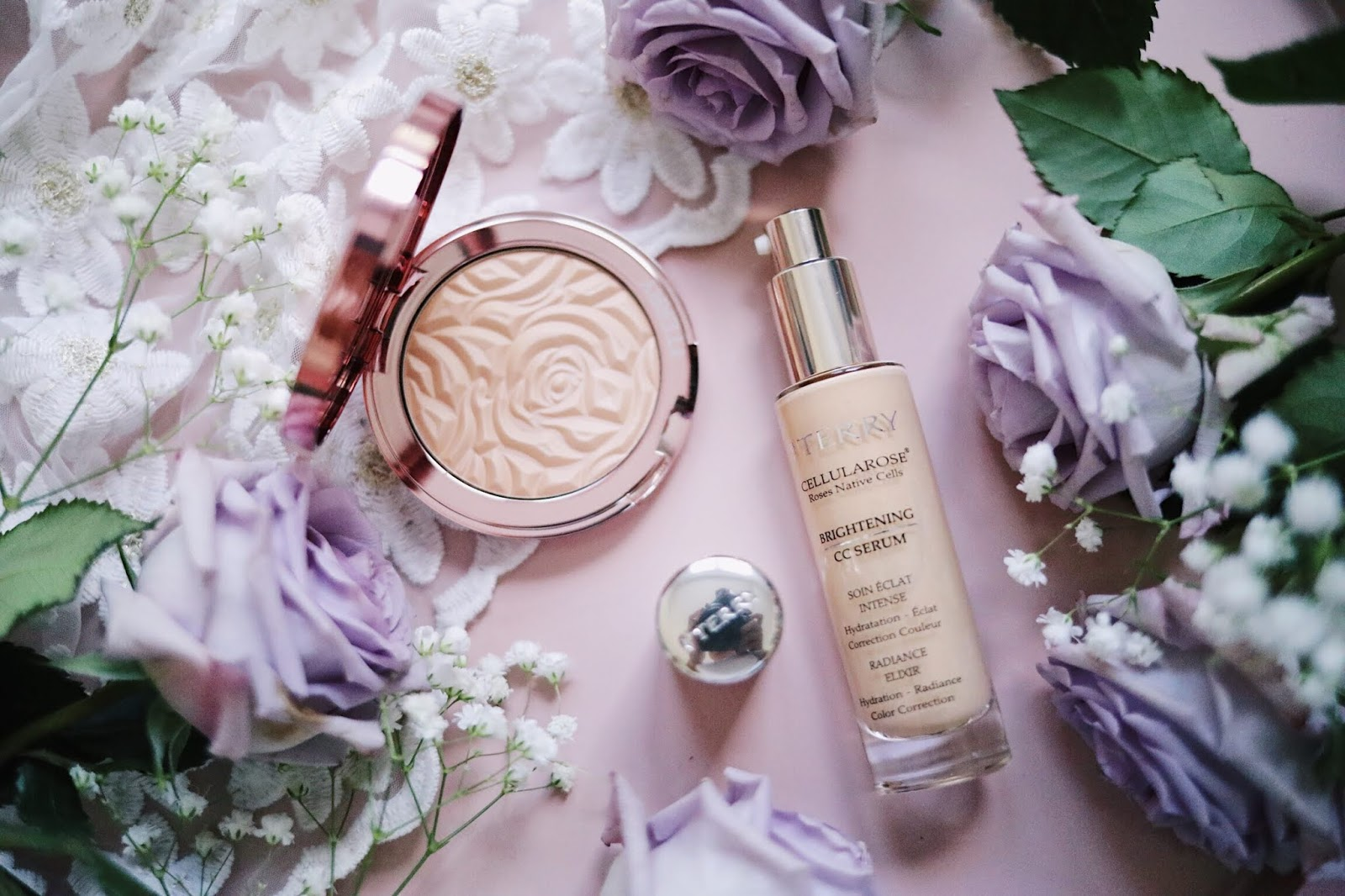 BY TERRY , BRIGHTENING CC SERUM ,BRIGHTENING CC POUDRE , ROSE ,PARIS , rose mademoiselle , rosemademoiselle, blog beauté