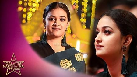 Keerthy Suresh talks about her Dream House | Galatta Nakshatra Awards
