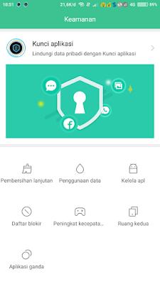Cara Membuat Kunci Aplikasi Android Di HP Xiaomi